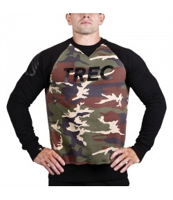 TREC WEAR SWEATSHIRT 015 CAMO BLACK BLUZA