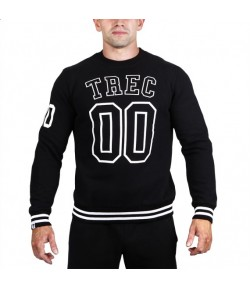 TREC WEAR BLUZA TW SWEATSHIRT 020 BLACK BEZ KAPTURA