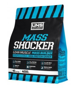 UNS Mass Shocker 4000g GAINER MASA