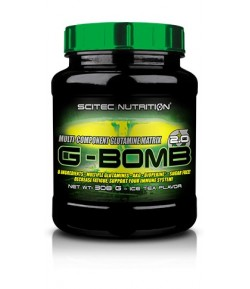 SCITEC G-BOMB 2.0 500G GLUTAMINA ICE TEA