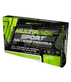 TREC MULTIPACK SPORT DAY/NIGHT FORMULA 60 KAP WITAMINY MINERALY
