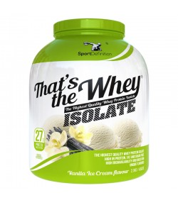 SPORT DEFINITION THAT'S THE WHEY ISOLATE 2100g IZOLAT BIALKO WPI