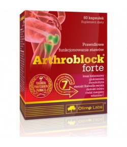 OLIMP Arthroblock Forte 60caps STAWY SCIEGNA