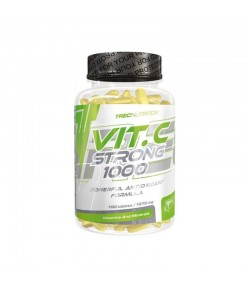 TREC VIT.C STRONG 1000MG + CYNK 100 TAB