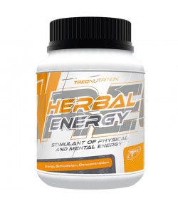 TREC HERBAL Energy 120 tab POBUDZENIE GUARANA KOFEINA