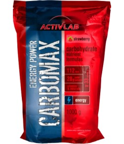 ACTIVLAB Carbomax Energy Power 1kg CARBO +PORCJA SUPLEMENTU