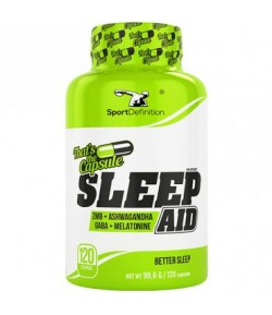 SPORT DEFINITION Sleep Aid 120caps REGENERACJA SEN
