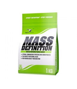 SPORT DEFINITION MASS DEFINITION 1000g GAINER MASA