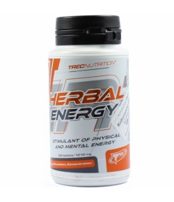 TREC HERBAL Energy 60TAB POBUDZENIE GUARANA KOFEINA