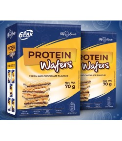 6PAK NUTRITION PROTEIN WAFERS - 70G WAFELKI WAFER