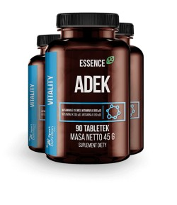 ESSENCENUTRITION ADEK - 90 tabl. WITAMINY