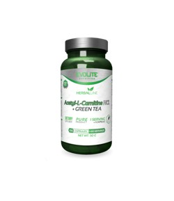 EVOLITE Acetyl-L-Carnitine + Green Tea 100caps