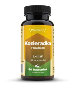 PHARMOVIT KOZIERADKA FENUGREEK 400MG 90 KAPS