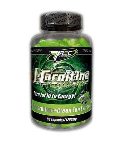 TREC L- CARNITINE + Green Tea SoftGel, 90